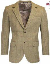 Blazer Tweed de estilo inglés