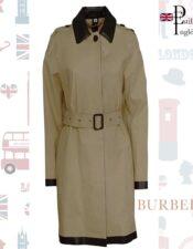 Burberry Gabardina mujer estilo inglés