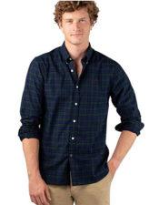 Camisa Oxford de Cuadros El Ganso de estilo inglés