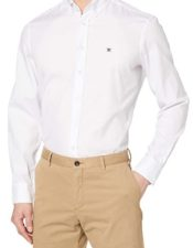 Oxford Camisa para Hombre