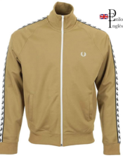 Fred Perry Taped Track Jacket British Style