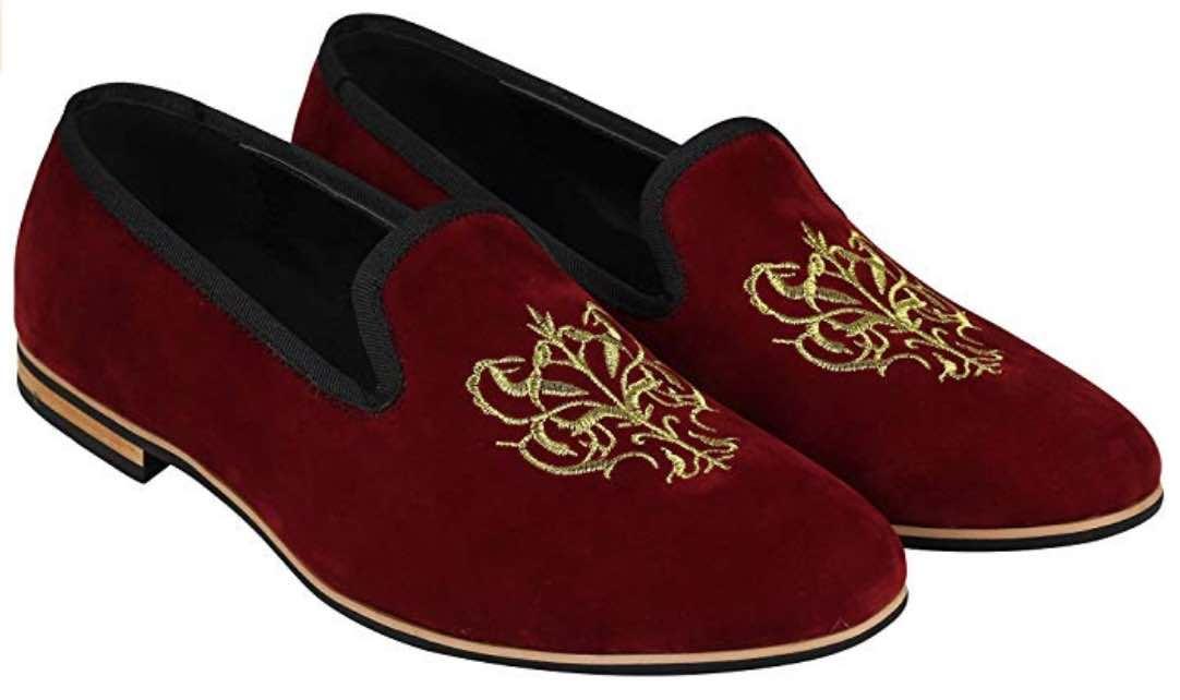 Mocasines british style rojos