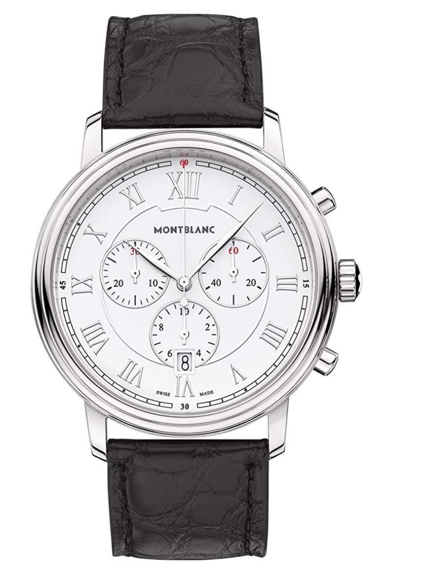 reloj de estilo inglés montblanc
