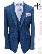 Tailored Modern Fit Tuxedo 3 piezas British Style