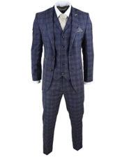 Traje espiga Tweed de estilo inglés