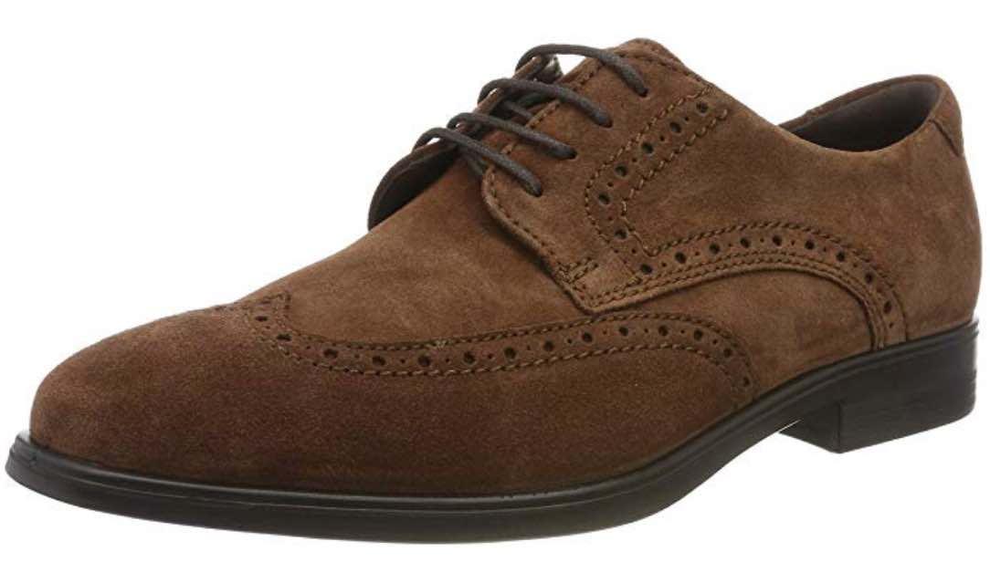 Zapatos de Cordones Brogue de estilo inglés