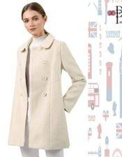 abrigo mujer de estilo inglés