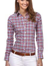 camisa mujer de estilo inglés