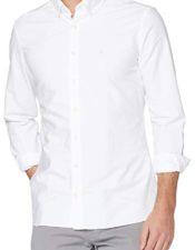 Camisa estilo inglés Hackett blanca