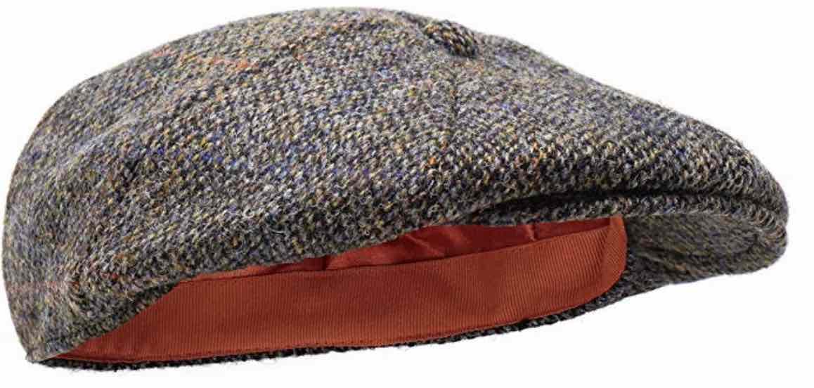 sombrero de estilo inglés