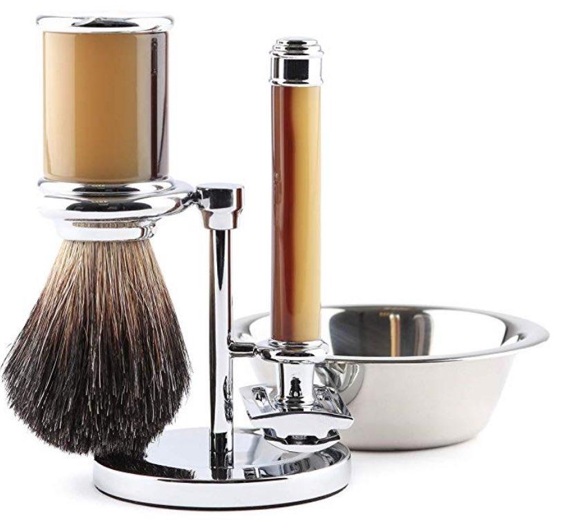 kit afeitado caballero de estilo inglés