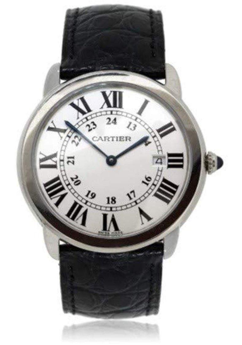 reloj cartier de estilo inglés