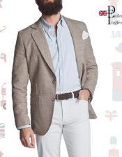 silbon blazer de estilo inglés