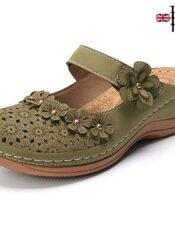Sandalias Planas de Verano estilo inglés