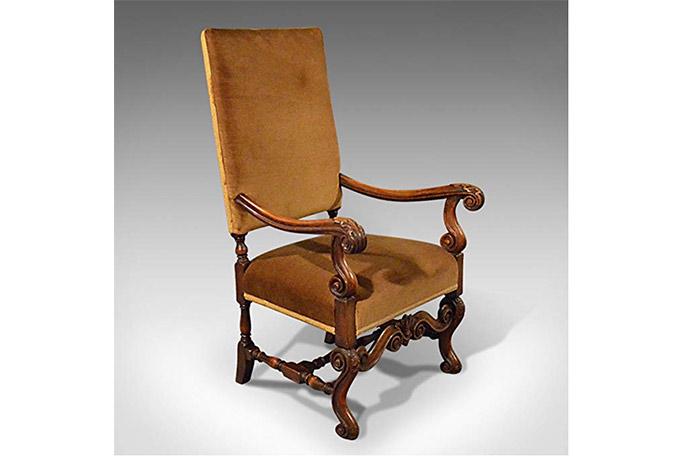 silla de estilo inglés