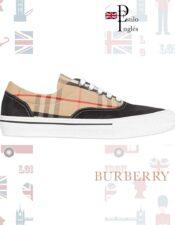 zapatilla Burberry de estilo Inglés