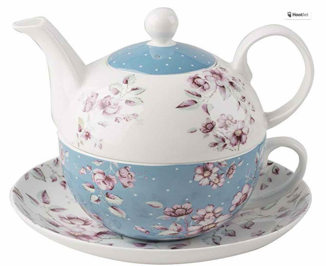 juego de té floral london