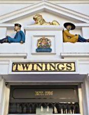 Té Twinings, una Historia en el 216 Strand