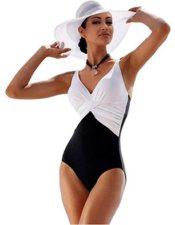 de estilo inglés traje de baño para mujer bañador
